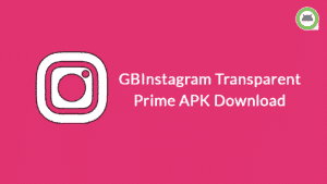 GB Instagram Transparent Prime Apk Download Latest v1.50