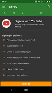 YMusic - YouTube music player & downloader for Android - Download